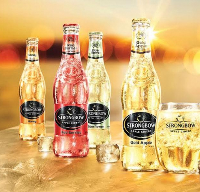 Strongbow (red berries / apple / dark fruit)